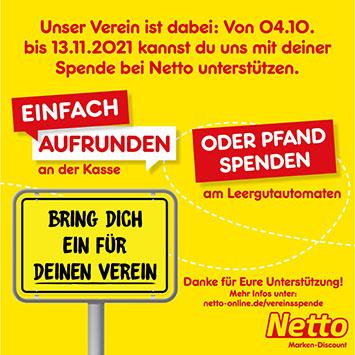 Netto - Vereinsspende