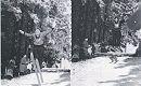 Skispringen in Catterfeld um 1960